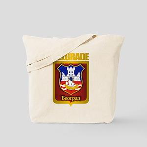 """Belgrade Gold"" Tote Bag"