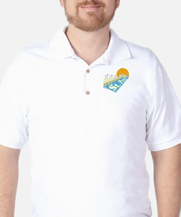 St. Pete Local Golf Shirt