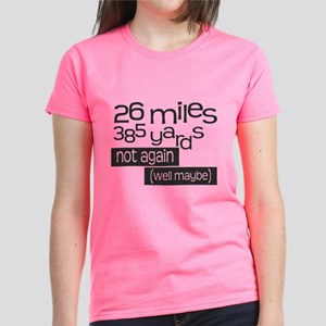 Funny 26.2 Marathon Women's Dark T-Shirt