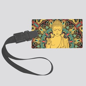 Buddha Large Luggage Tag