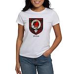 Nichols Clan Crest Tartan Women's T-Shirt