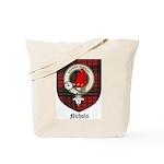 Nichols Clan Crest Tartan Tote Bag