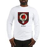 Nichols Clan Crest Tartan Long Sleeve T-Shirt