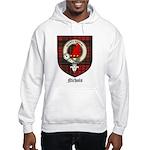 Nichols Clan Crest Tartan Hooded Sweatshirt
