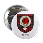 Nichols Clan Crest Tartan 2.25