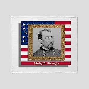 Philip H. Sheridan Throw Blanket