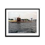 USS DRUM Framed Panel Print