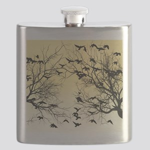 Crow flock Flask