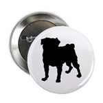 Christmas or Holiday Collie Silhouette 2.25