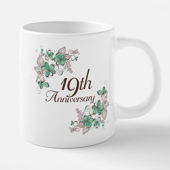 19th Anniversary Keepsake Mugs