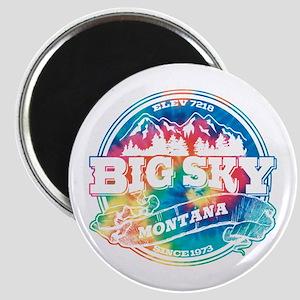 Big Sky Old Circle Magnet