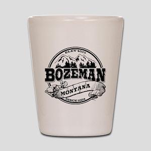 Bozeman Old Circle Shot Glass