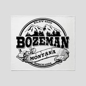 Bozeman Old Circle Throw Blanket