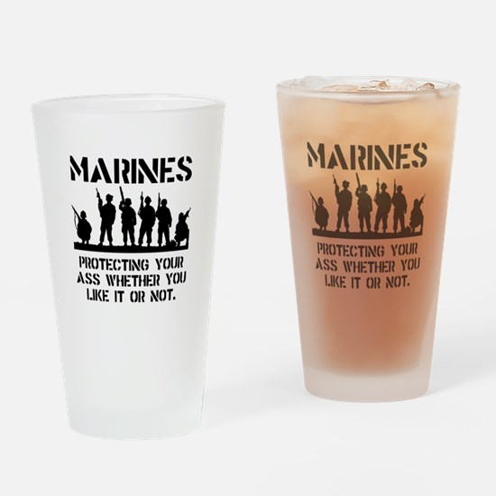 Marines Protect Drinking Glass