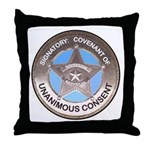 Sovereign & Covenant Badge Throw Pillow