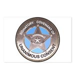 Sovereign & Covenant Badge Postcards (Package of 8