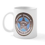 Sovereign & Covenant Badge LH Mug