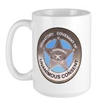 Sovereign & Covenant Badge Large LH Mug