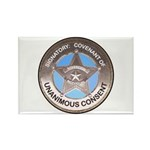 Sovereign & Covenant Badge Rectangle Magnet (10 pa