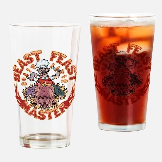 Beast Feast Master Drinking Glass
