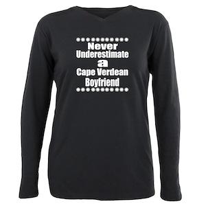 8a4e5a20055 Cape Verde Plus Size Long Sleeve T-Shirts - CafePress
