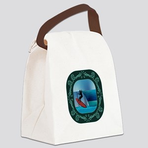 OH THE RIDE Canvas Lunch Bag