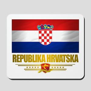 """Croatia Pride"" Mousepad"