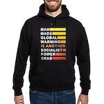 Socialist Power Grab Hoodie (dark)