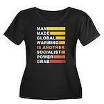 Socialist Power Grab Women's Plus Size Scoop Neck