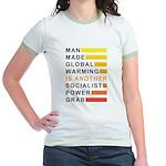 Socialist Power Grab Jr. Ringer T-Shirt