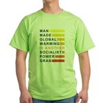 Socialist Power Grab Green T-Shirt
