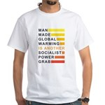 Socialist Power Grab White T-Shirt