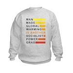 Socialist Power Grab Kids Sweatshirt