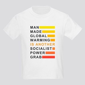 Socialist Power Grab Kids Light T-Shirt