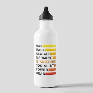 Socialist Power Grab Stainless Water Bottle 1.0L