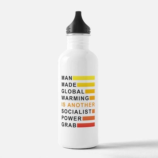 Socialist Power Grab Water Bottle