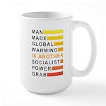 Socialist Power Grab Large Mug