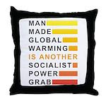 Socialist Power Grab Throw Pillow