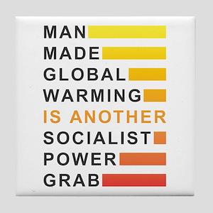 Socialist Power Grab Tile Coaster