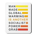 Socialist Power Grab Mousepad