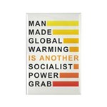 Socialist Power Grab Rectangle Magnet (10 pack)