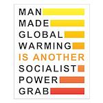 Socialist Power Grab Small Poster