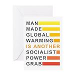 Socialist Power Grab Greeting Card