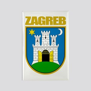 Zagreb Rectangle Magnet