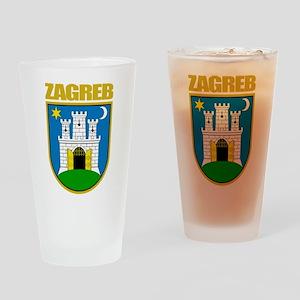 Zagreb Drinking Glass