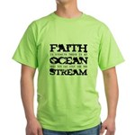 Faith is Knowing V2 Green T-Shirt