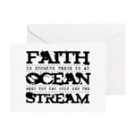 Faith is Knowing V2 Greeting Card