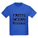 Faith is Knowing V2 Kids Dark T-Shirt