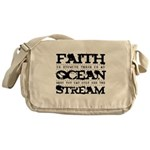 Faith is Knowing V2 Messenger Bag