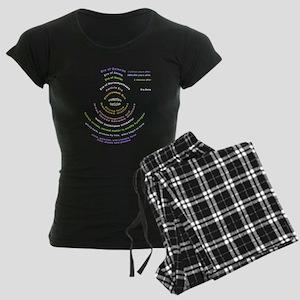 Big Bang Theory Women's Dark Pajamas